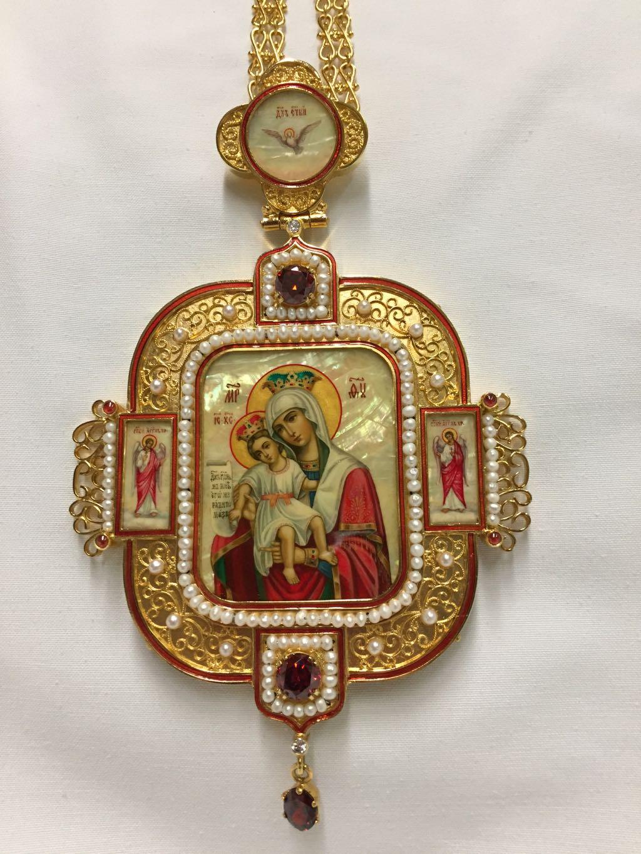 Engolpion XL Theotokos