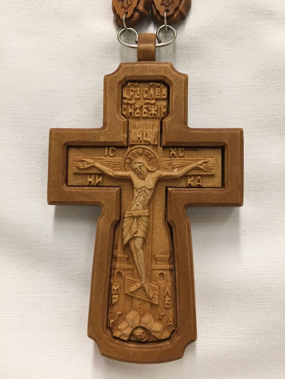 Pectoral Cross Wood