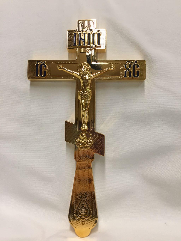 Blessing Cross Gold Med