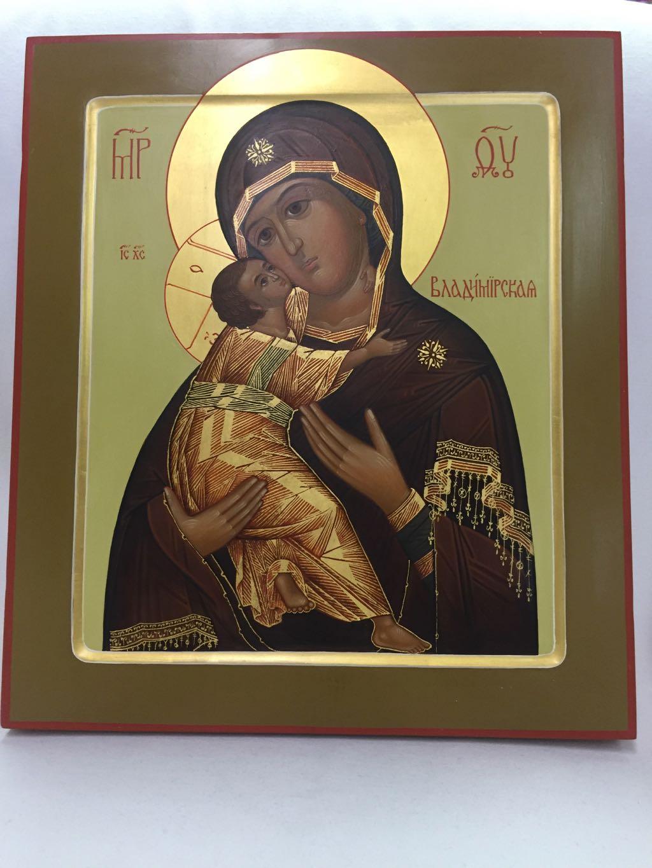 Icon Theotokos Handpainted
