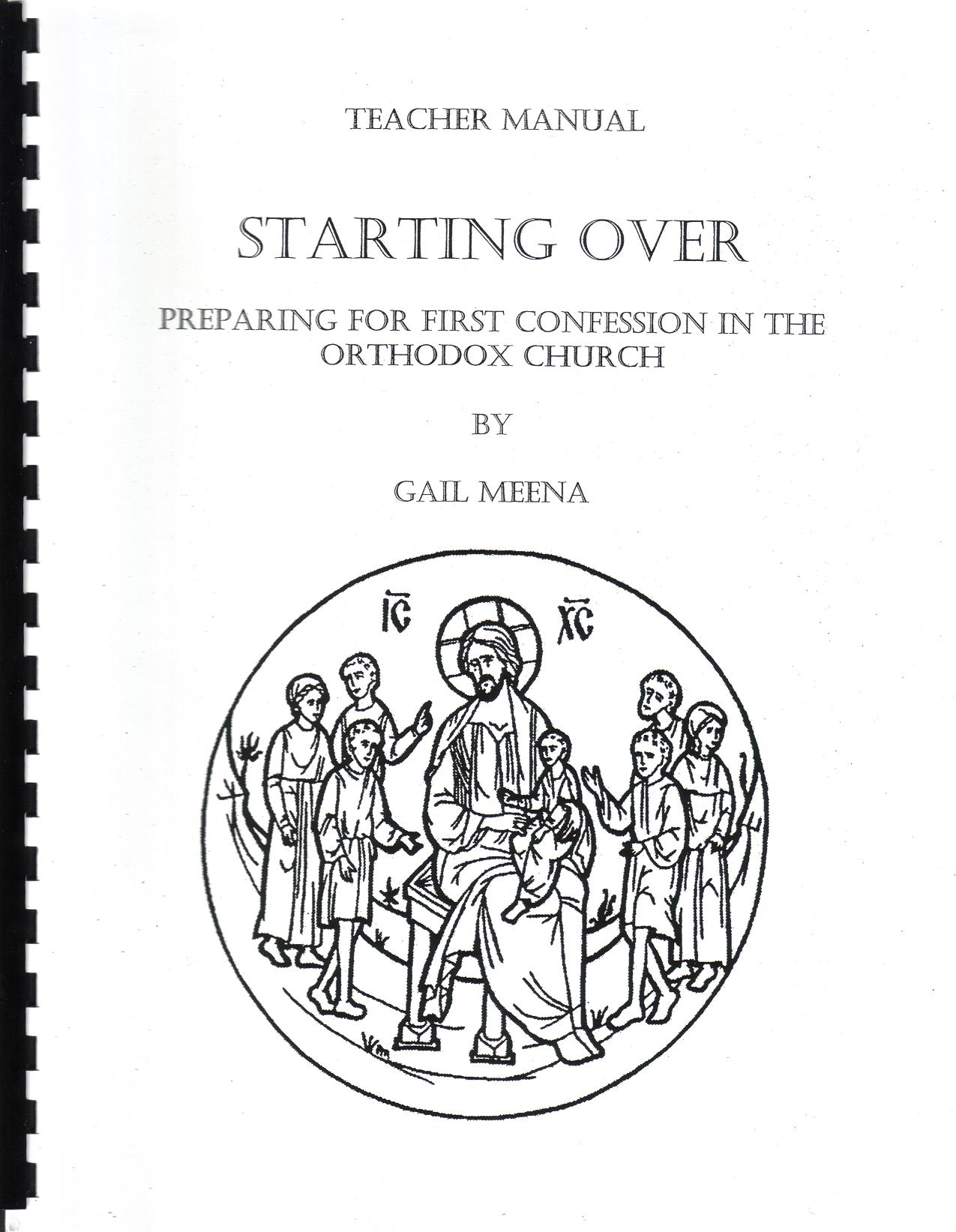 Starting Over - Teacher Manual