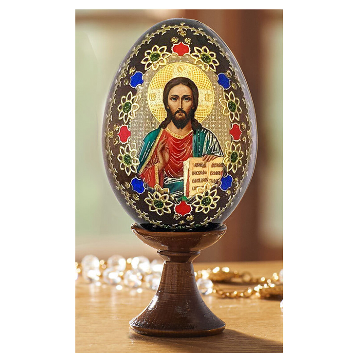 Icon Egg w/Stand-Christ