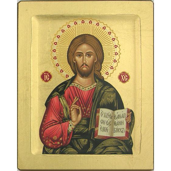 "Icon Christ the Good Teacher 6""x7.5"
