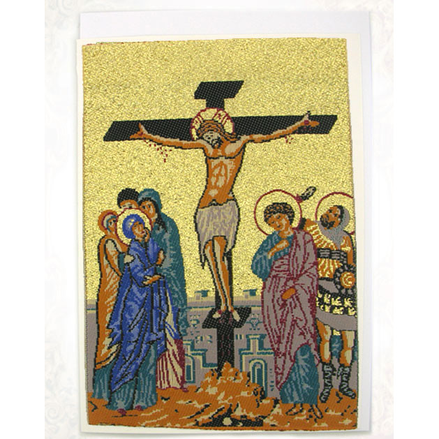 Greeting Card Crucifixion