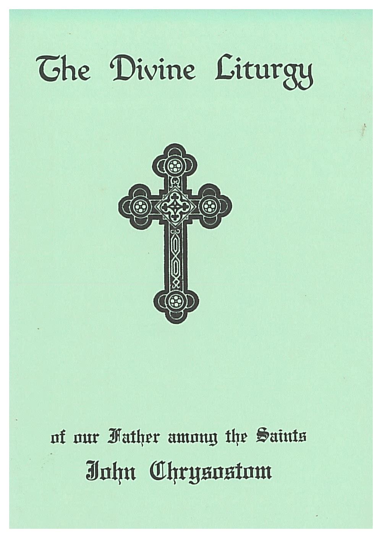 Divine Liturgy of St. John Chrysostom