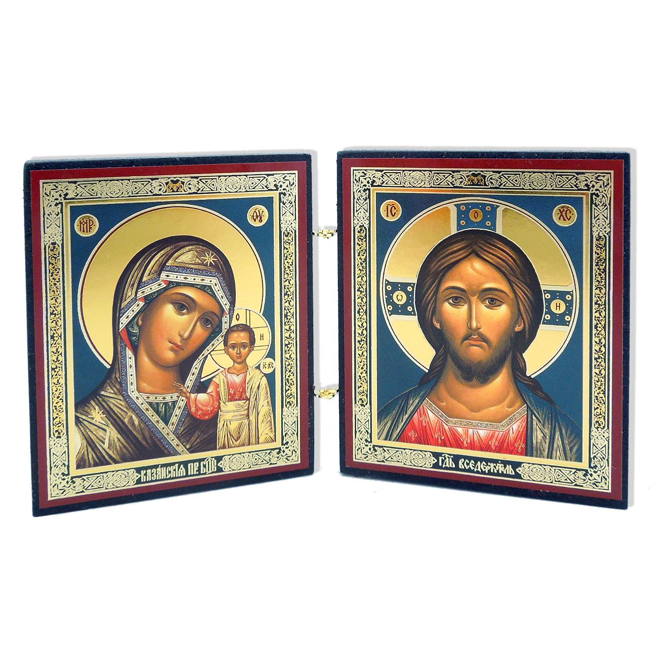 Diptch Christ/Mary SM