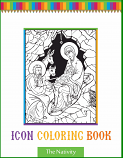 Icon Coloring Book-The Nativity