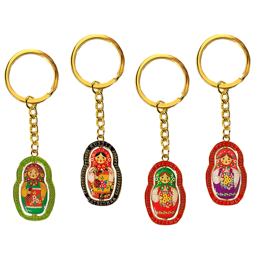 Matryoska Keychain