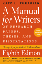 Manual for Writer 8th Edition