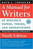 Manuel For Writers 9th Ed