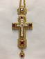 Pectoral Cross (Red Stones)