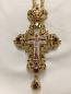 Pectoral Cross Ruby Stones