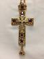 Pectoral Cross Gold & Purple
