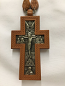 Pectoral Cross (wood & silver)