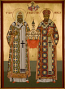 Icon-Raphael & Tikhon 8x12