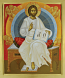 Icon Christ Enthroned
