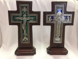 Wood Cross Double Sided