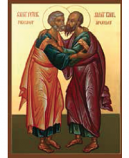 Icon Peter and Paul