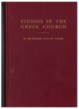 Studies in the Greek Church