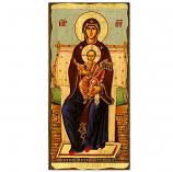 """Icon-Virgin of Vatopaida 6""""x11"""""""