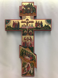 Handpainted Wall Cross