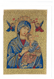 Greeting Card Virgin Perpetual Help
