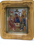 Icon Shrine Scrollwork