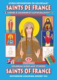Saints of France Coloring Bk