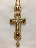 Pectoral Cross (Red Stones)