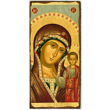 "Icon Virgin Of Kazan 4.5""x9"""