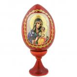 Icon Egg w/stand-Theotokos