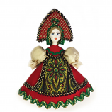 Ornament Porcelin Doll