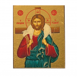 Icon-Christ the Good Shepherd 4x5