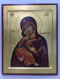 Icon Theotokos Gold
