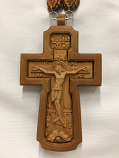 Pectoral Cross Wood